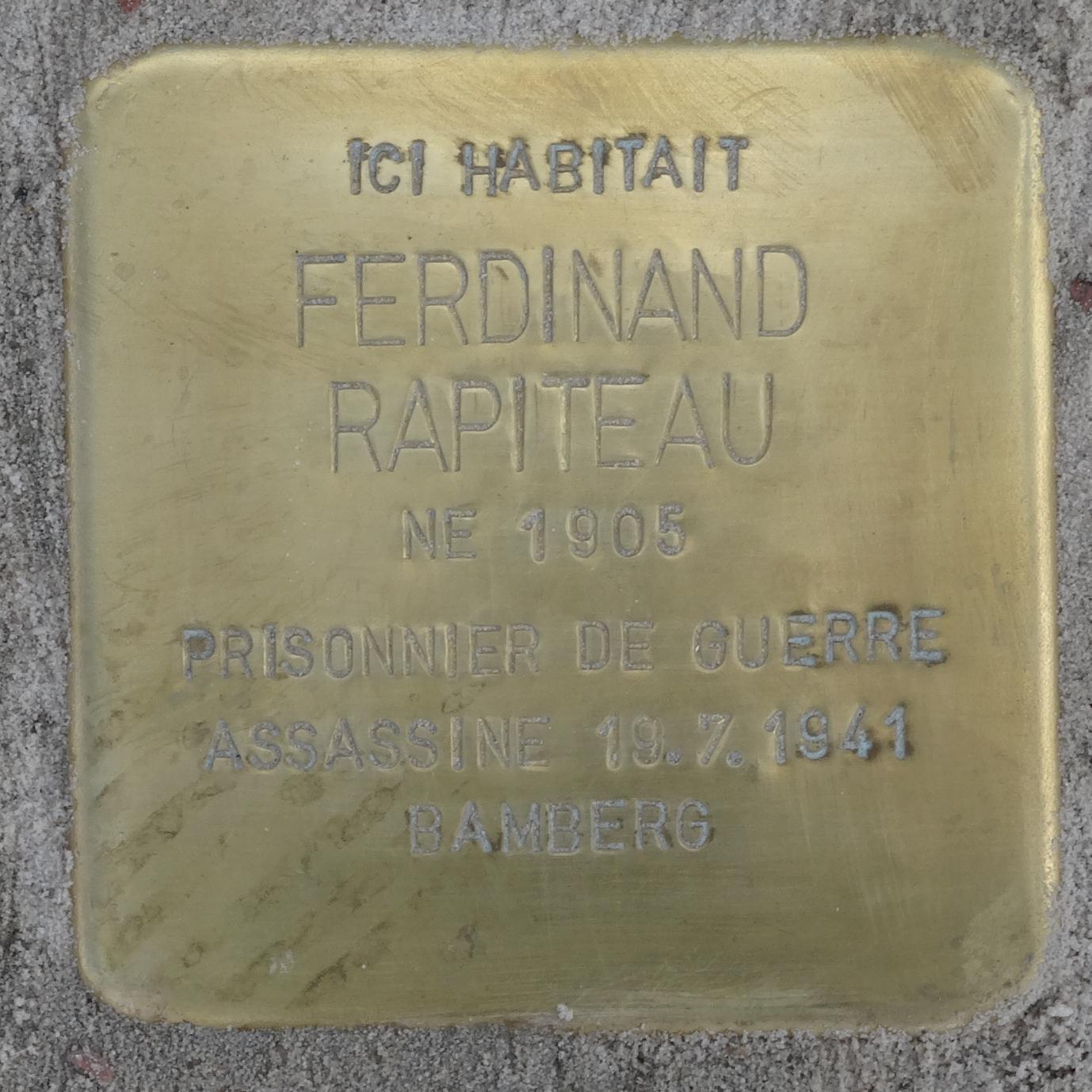 Ferdinand Rapiteau